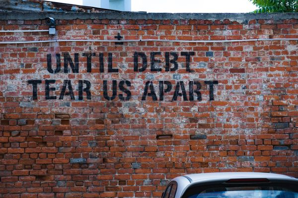 How to get out of debt with low income